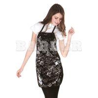 HAIRMASTER артикул: 890883 BLK HairMaster Фартук для Покраски Rose Черный