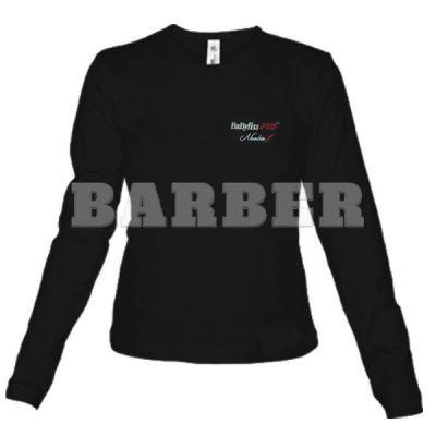 Babyliss Promo Футболка женская черная длин. Рукава размер L