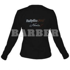 Babyliss Promo Футболка женская черная длин. Рукава размер L артикул M1709E-L фото, цена br_16339-02, фото 2
