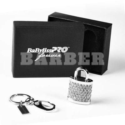 Babyliss Promo флешка 4 Гб в виде замка с брелком и стразами