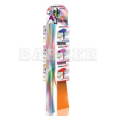Babyliss Promo LUMINOSO напольный дисплей для 6-ти фенов картонный