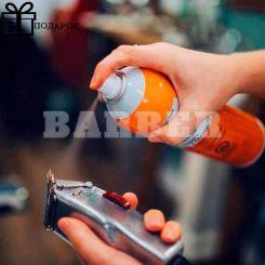 Barbicide Clippercide спрей- Аэрозоль для дезинфекции и смазки машинок и триммеров, 500 мл артикул 72131 фото, цена br_19446-02, фото 2