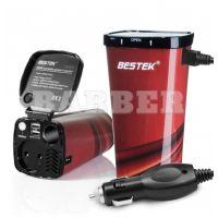 BESTEK артикул: MRI2013KLB Bestek інвертор 12 В/220 В 50 ГЦ 200 Вт