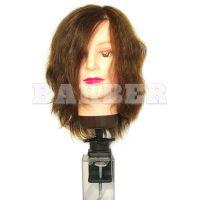 EUROSTILE артикул: 01455 Болванка жен. ШАТЕН дл.волос 30 см. плотн. 250/см + ШТАТИВ