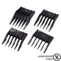 HAIRMASTER артикул: AK 000 HairMaster Набор насадок 3 мм; 6 мм; 9 мм; 12 мм