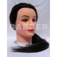 SIBEL артикул: 0030551 Болванка жен. БРЮНЕТ дл.волос 50-60 см. плотн. 250/см без штатива