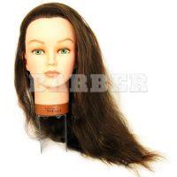SIBEL артикул: 0040501 Болванка жен. JENNY  дл.волос 50-60 см. плотн. 250/см без штатива
